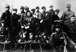 """Oddział partyzancki sierż. Władysława Janczewskiego """"Lalusia"""" w kwietniu 1945 r. pod Wersoczką"""