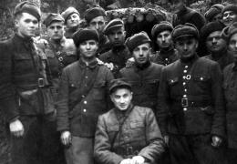 """Pododdział """"Olecha"""", styczeń 1948"""