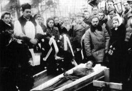 Pogrzeb żołnierza Ragnera