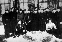 Żołnierze z oddziału Stanisława Karlińskiego