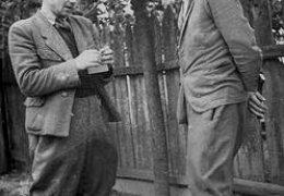 Od lewej kpt. ZB Uskok, ppor. SK Wiktor