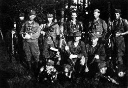 """Oddział """"KD 121"""", lato 1945 r."""