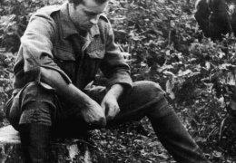"""Wrzesień 1945 r. Lasy Skaryszewskie, Por.Stefan Bembiński """"Harnaś"""""""