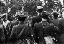 Wrzesień 1945 r. Lasy Skaryszewskie